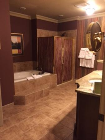 One Bedroom Sutie Fireplace Deck Bathroom Picture Of Grand Cascades L