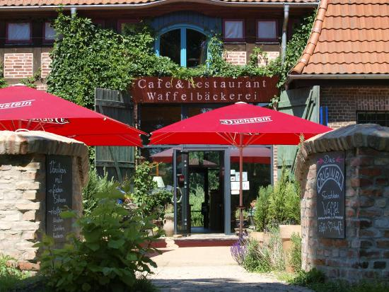 Mellenthin, Niemcy: Hotelvorderseite