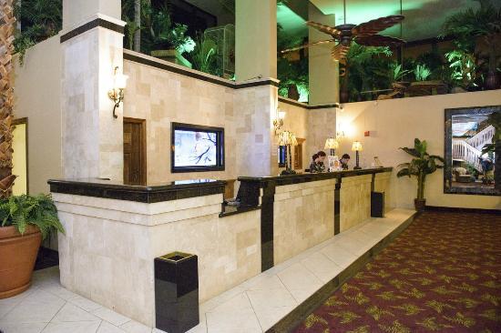 Isla Grand Beach Resort : Front Desk Lobby