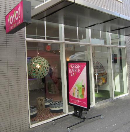 YoYo! Fresh Tea Bar: YoYo Fresh Tea Rotterdam