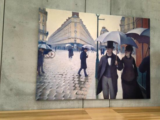 the gustave caillebotte exhibition picture of kimbell art museum
