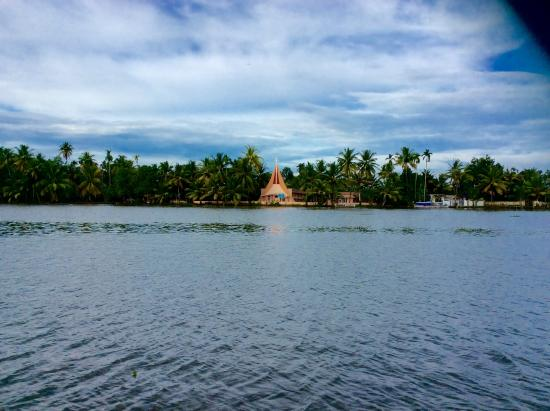 Thevercad Homestay: View from the water