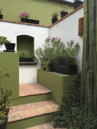Casa Quetzal Hotel: courtyard