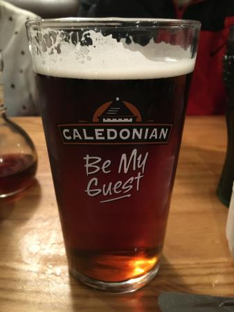 The Lochy: Lovely draught beers