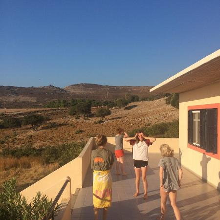 Agios Fokas, Griechenland: The first morning, taking it all in!