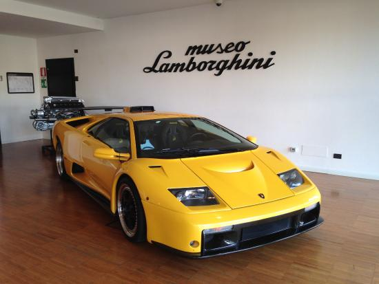 Emilia-Romagna, İtalya: Lamborghini Diablo GT