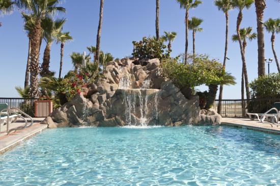 Isla Grand Beach Resort Pool Waterfall