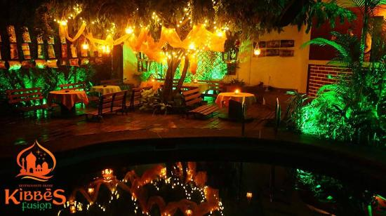 Plato oasis picture of kibbes fusion restaurante arabe for Barrio ciudad jardin cali