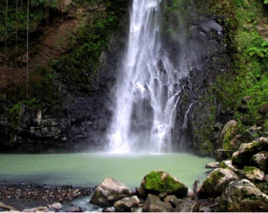 Delices, Dominica: Victoria Falls