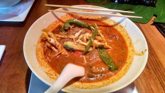 My Veg Curry Noodle Soup Picture Of Pacific Kitchen