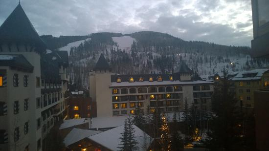 The Vail Spa Condominiums: View from the room