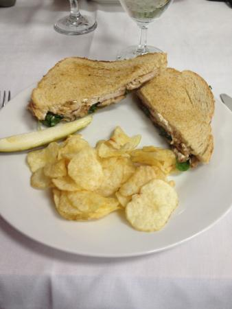 The Perfect Pear: Balsamic Chicken and Fig Panini.