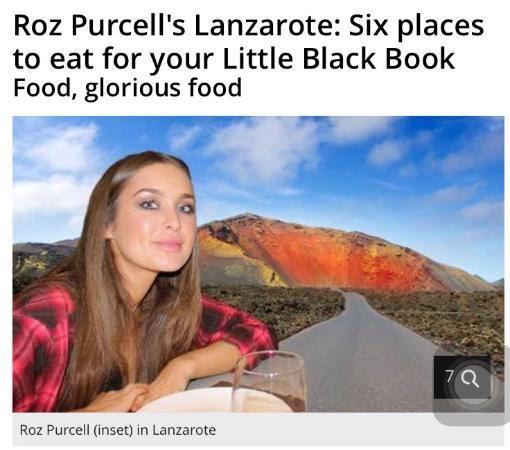 Purcell's Lanzarote vacations