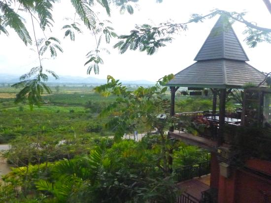 Thaton Hill Resort: view from the room (101)