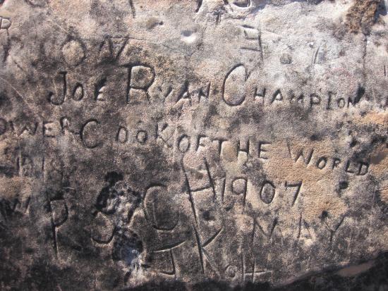 Barcaldine, Australia: Old Bogan Graffiti