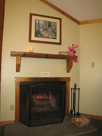 Fireplace Gordonsville  Shenandoah Crossing: Cabin Fireplace we used on 1st cold nite