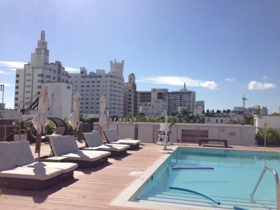 The Redbury South Beach Rooftop Pool