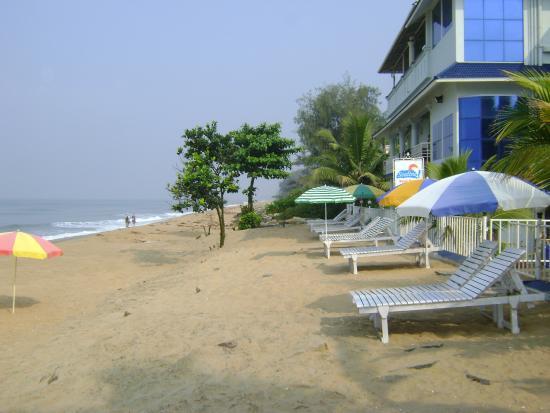 Cherai Beach, India: Beach view