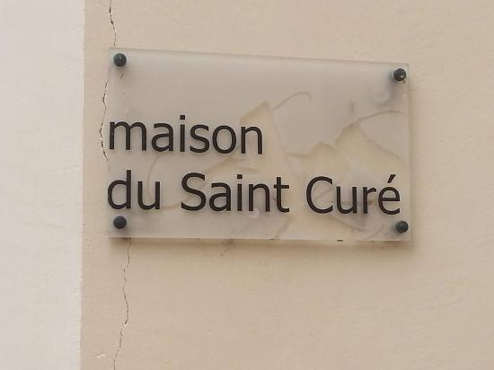 the sign to saint vianney s home picture of basilique d ars ars