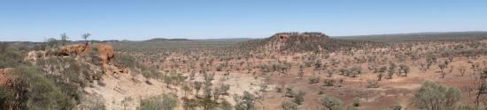 Quilpie, Australia: another view from the lookout