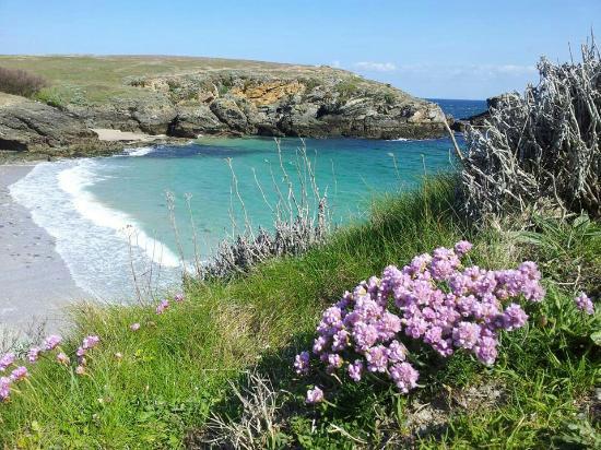 Belle-Ile-en-Mer, França: La Pointe des Poulains