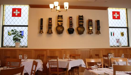 Swiss Club Restaurant: Swiss Bells