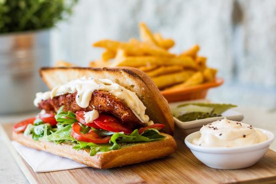 Pennant Hills, Australien: Chicken Burger
