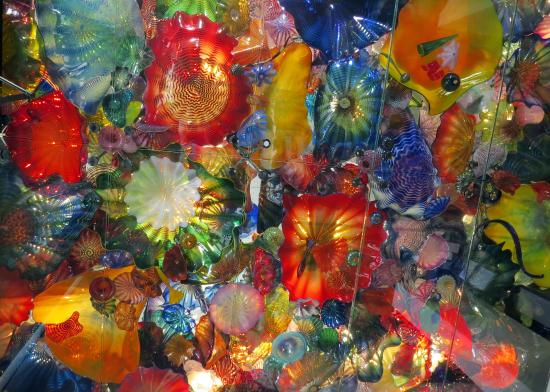 Wichita Art Museum: Chihuly Glass Floor