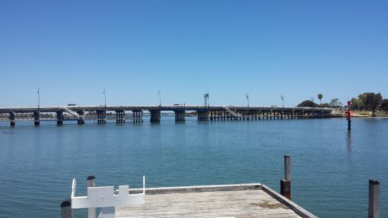 The Merchant Tea and Coffee: Old Mandurah road bridge from the jetty