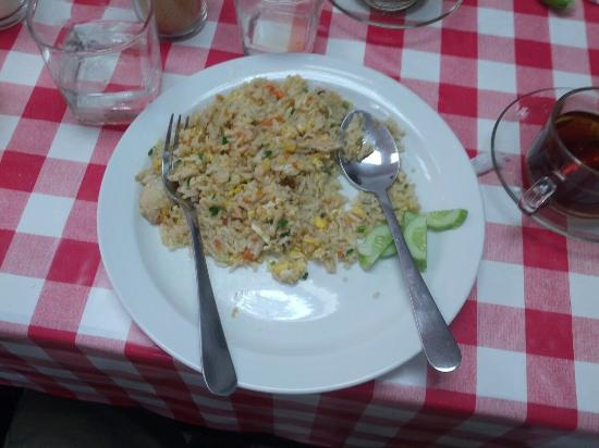 The NooK Bangkok : The fried rice is very nice