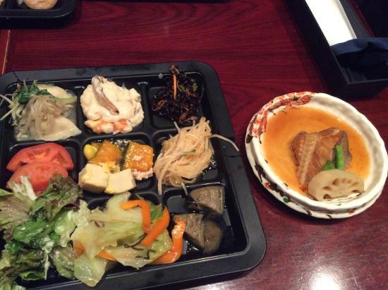 Sakura Osakamarubldg: lunch
