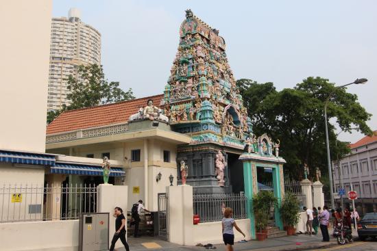 Hotel 81 Cosy : Индуистский храм в China town