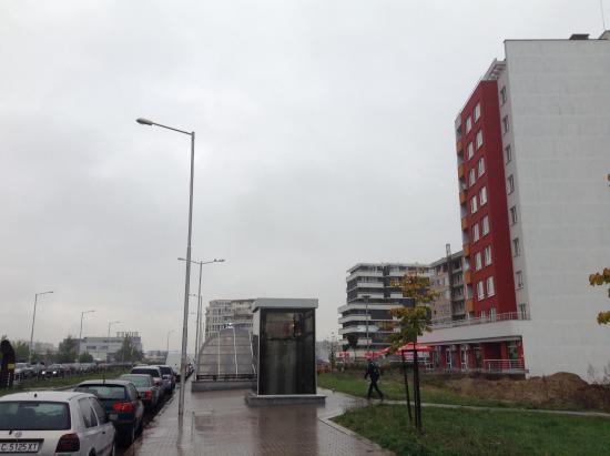 Mladost: Современные сооружения