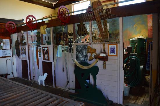 Nyngan, Australia: Mid State Shearers Shed
