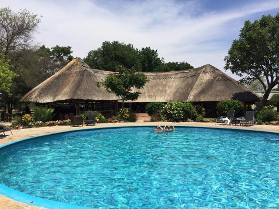 A'Zambezi River Lodge: Uncrowded