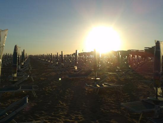 Villaggio Sole B: tramonto