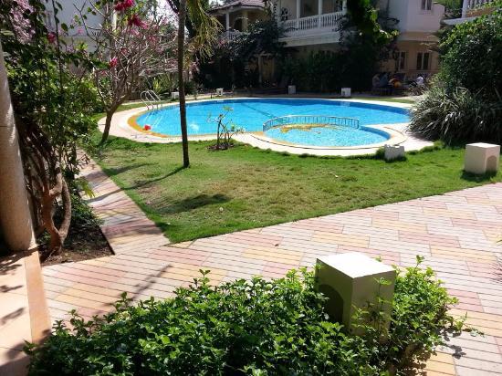 Joie de Vivre Goa : View from Villa Front
