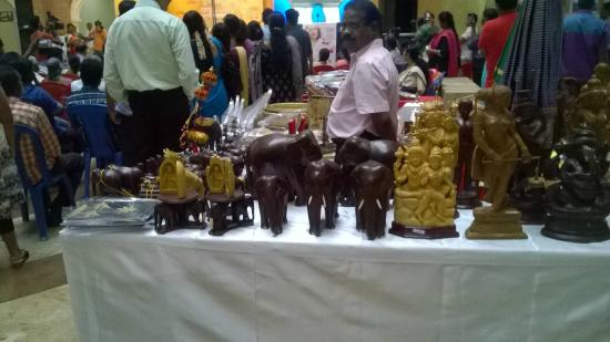 Shop For Wodden Handicrafts Picture Of Spencer Plaza Chennai