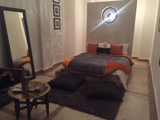Riad Chayma: Our Room - The Orange Suite