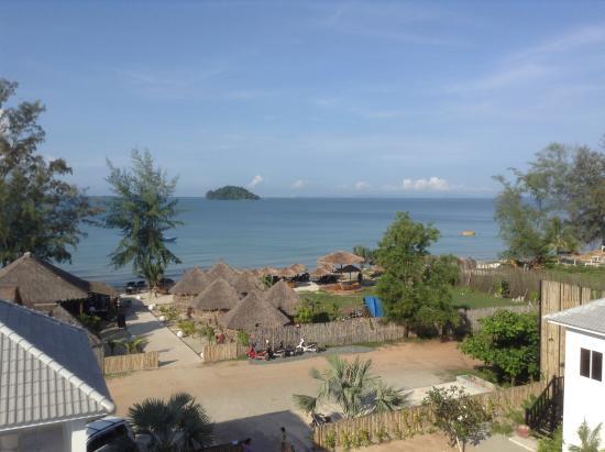 Mary Beach Hotel Resort Вид с балкона
