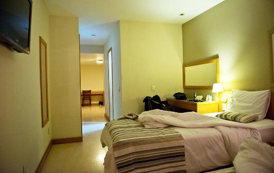 Majestic Rio Palace Hotel: Quartos amplos, bem iluminados.