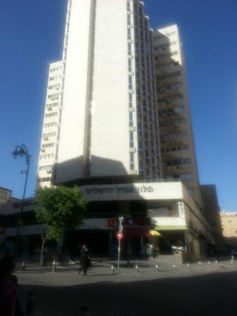 Jerusalem Tower Hotel: вид на отель 1