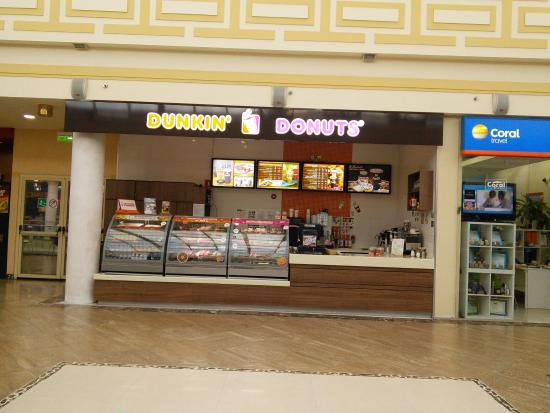 dunkin donuts external environment