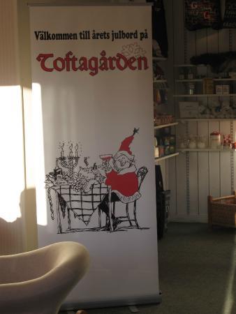 Tofta, Schweden: Julbord