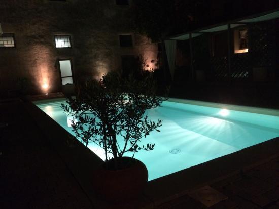 Hotel Villa Sassolini: A delightful pool area