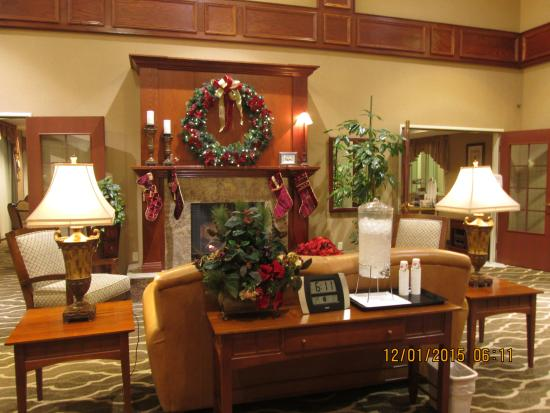 Comfort Inn & Suites : Gorgeous lobby