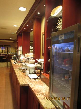 Comfort Inn & Suites: Very Nice Breakfast Bar