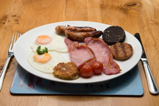 Sharamore House B&B: Full Irish Breakfast