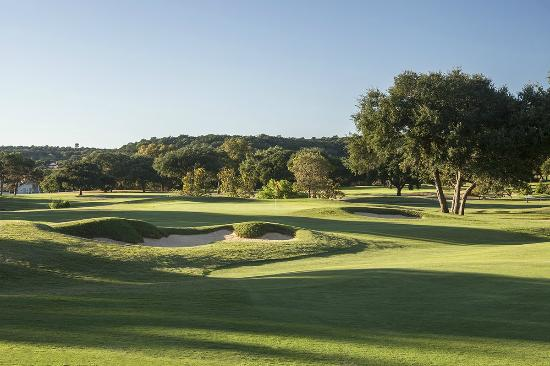 Tapatio Springs Hill Country Golf Course: Hole #10. Par 5. 504 yards.