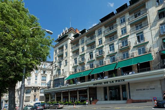 Hotel de la Paix: Hôtel extérieur